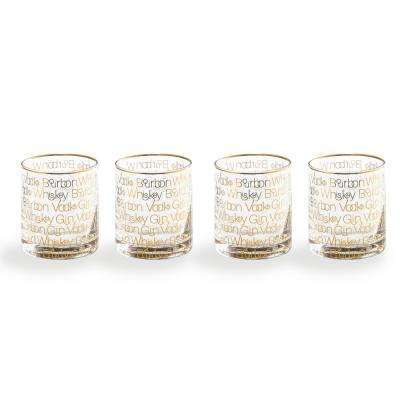 Cheers Glass Double-Old Fashion (Set of 4)