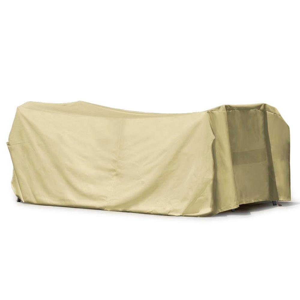 Mr. Bar-B-Q 114 in. Patio Dining Set Cover-DISCONTINUED