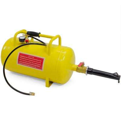 10 Gal. Air Tank Combo Tire Inflators Rim Bead Seater Breaker Breaking Blaster