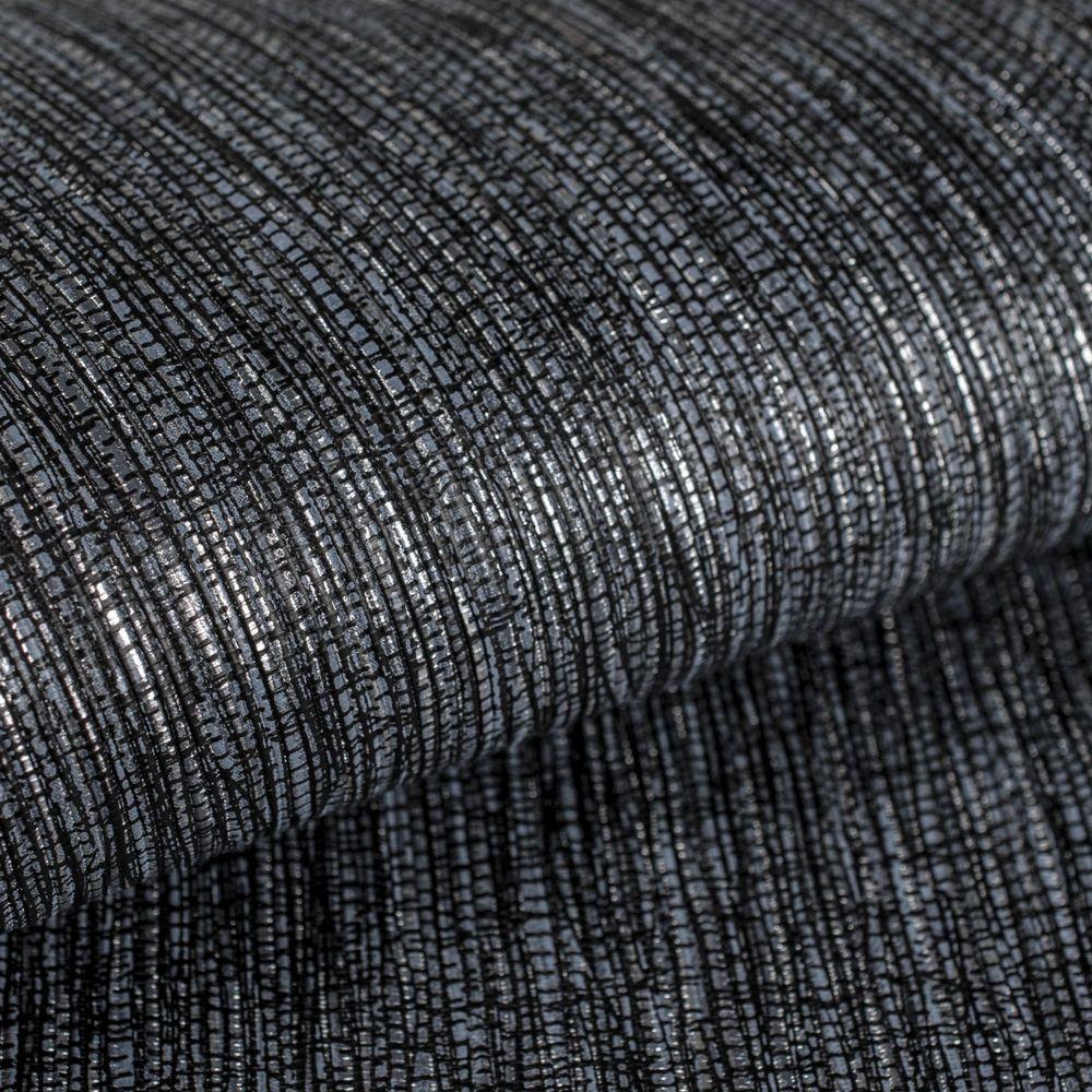 GrahamBrown Graham & Brown Grasscloth Midnight Wallpaper Sample, Black