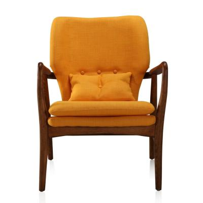 Yellow Bradley Accent Chair