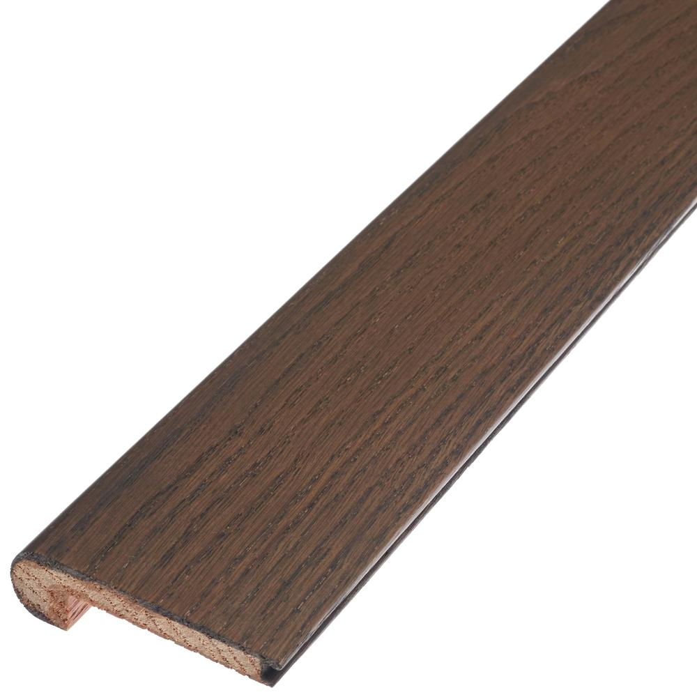 This Review Is From:Weathered 3/8 In. Thick X 2 3/4 In. Wide X 78 In.  Length Engineered Hardwood Flush Stair Nose Molding