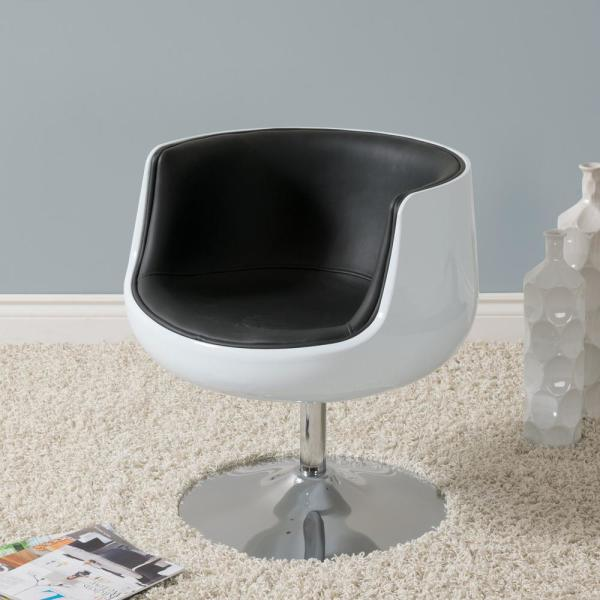 Awesome Flash Furniture Black Leather Barrel Shaped Guest Chair Theyellowbook Wood Chair Design Ideas Theyellowbookinfo