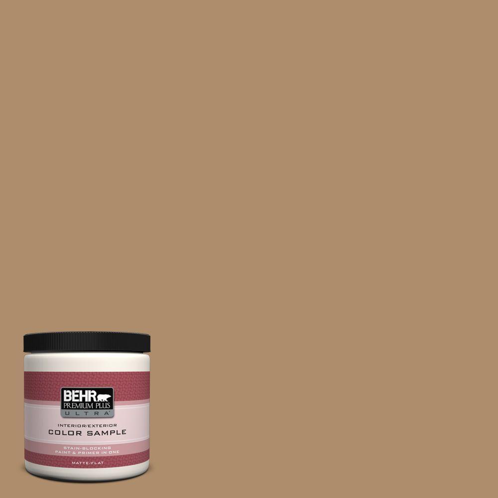 BEHR Premium Plus Ultra 8 oz. #N270-5 River Road Interior/Exterior Paint Sample