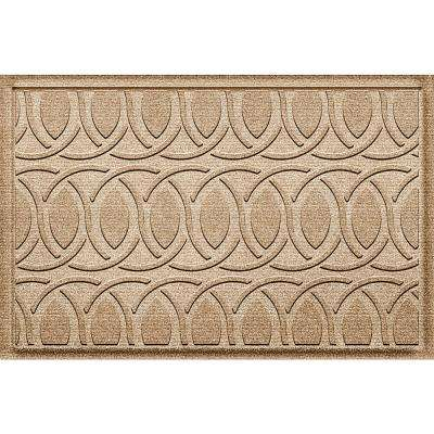 Aldine Camel 24 in. x 36 in. Polypropylene Door Mat