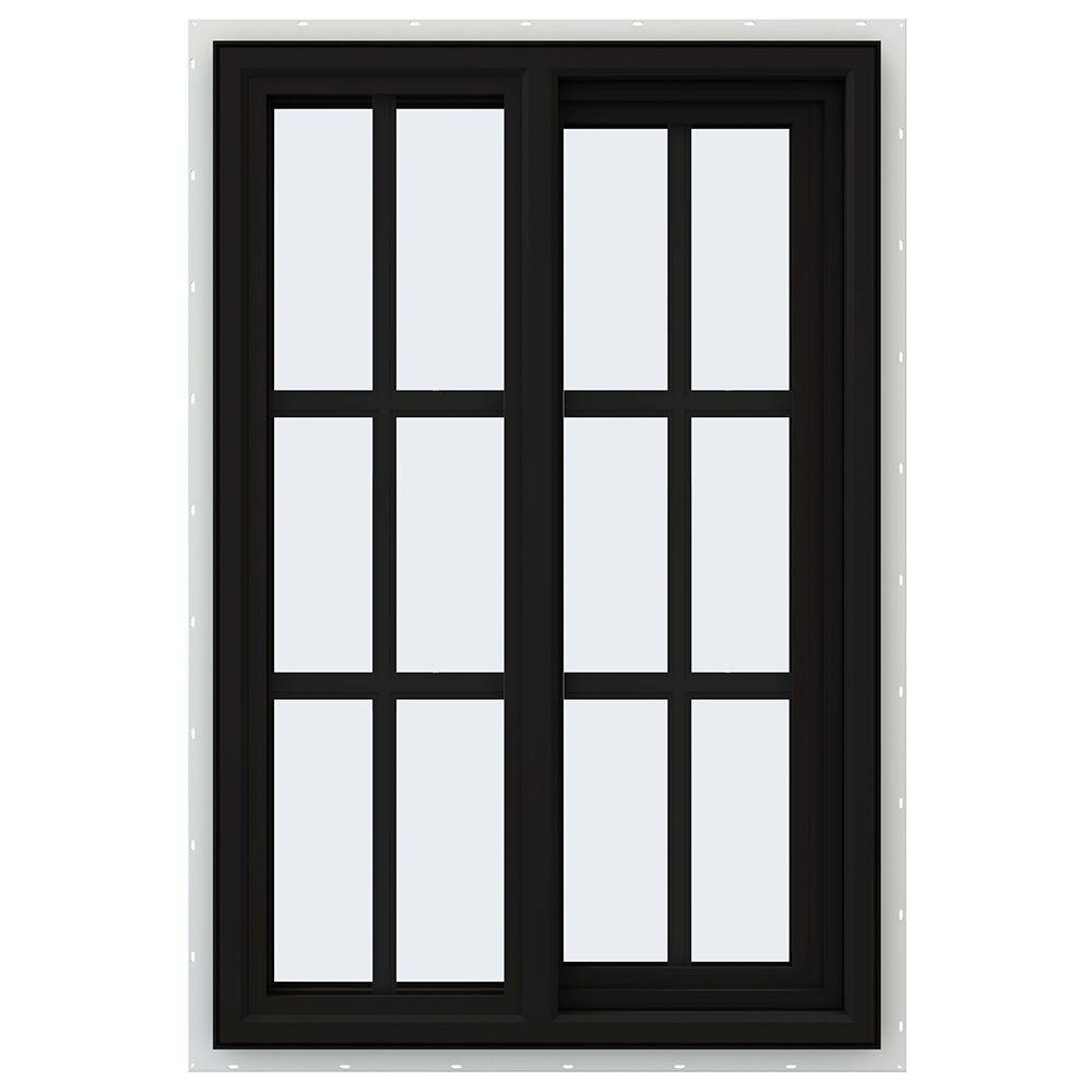 Jeld wen 23 5 in x 35 5 in v 4500 series right hand for Right window