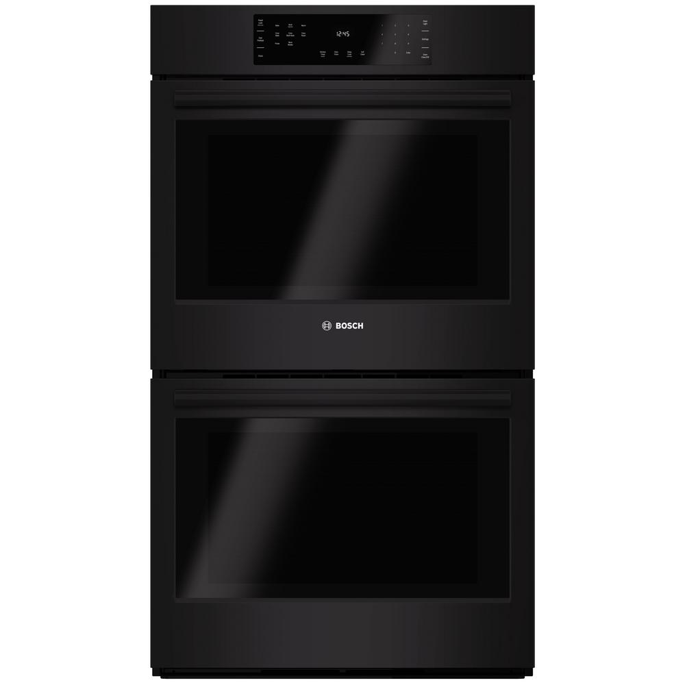 Bosch 800 Series 30 In Double Electric Wall Oven With