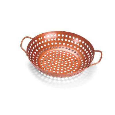 Non-Stick Copper Grill Wok With Handles