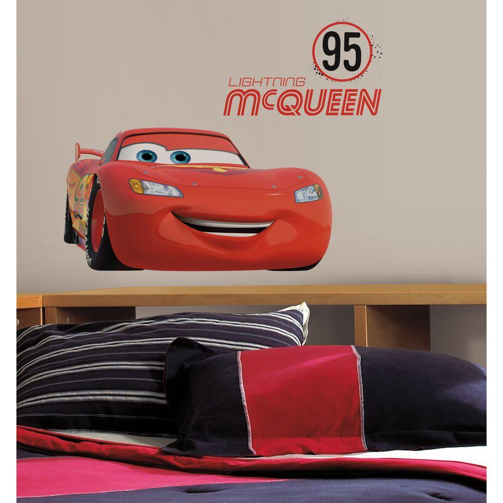 Roommates 5 in x 19 in cars lightning mcqueen number 95 peel cars lightning mcqueen number 95 peel and amipublicfo Gallery
