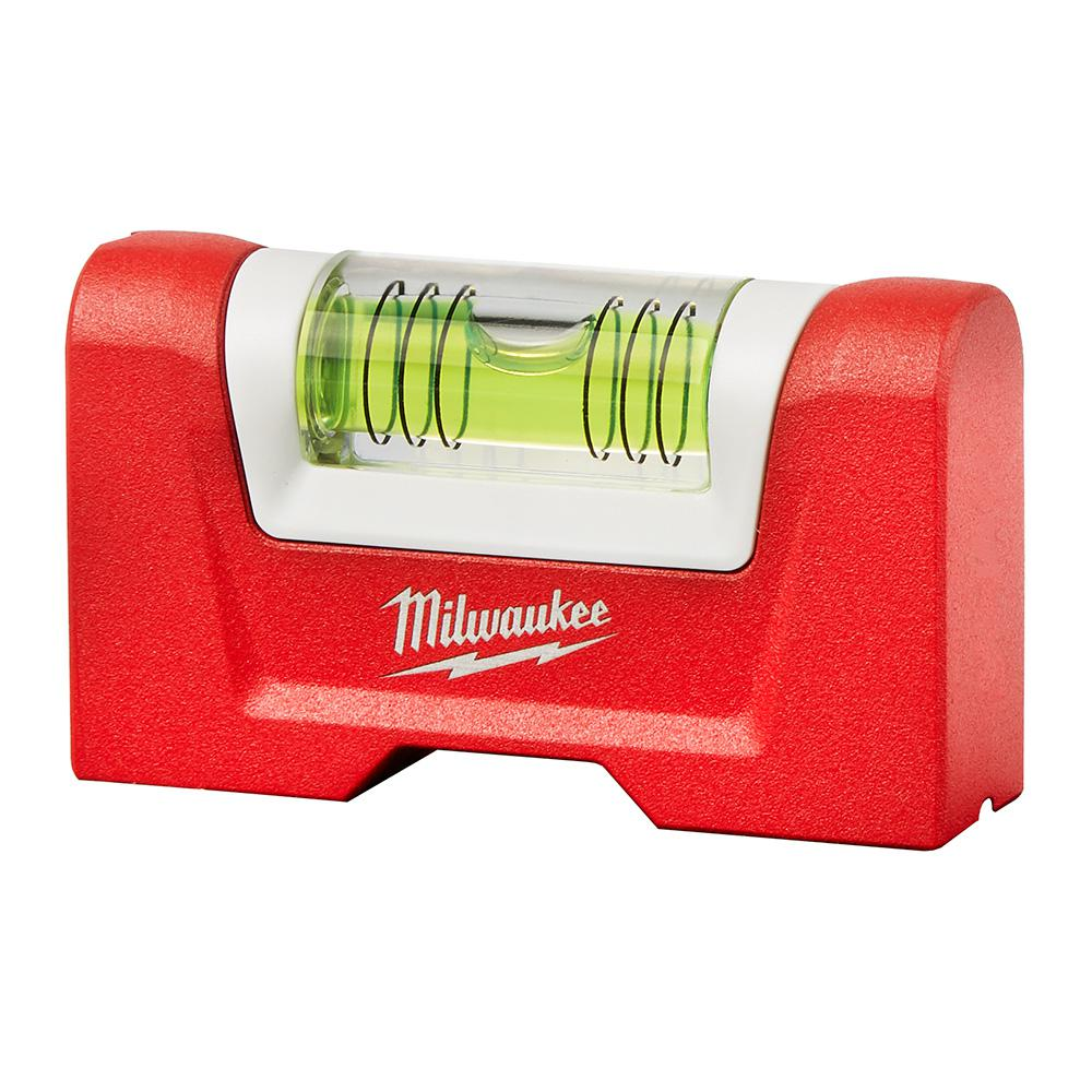 "Aluminum Magnetic Compact Billet Torpedo Level Milwaukee High-Quality 7/"" L"