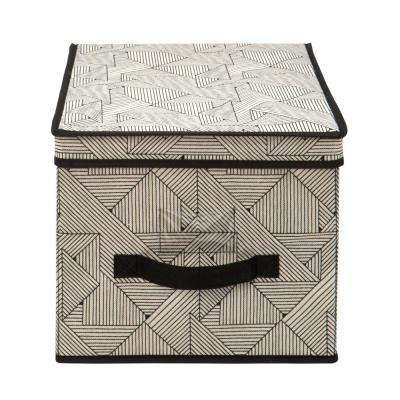 12 in. x 16 in. x 10 in. Geo Natural Large Storage Box