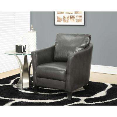 Charcoal Grey Arm Chair
