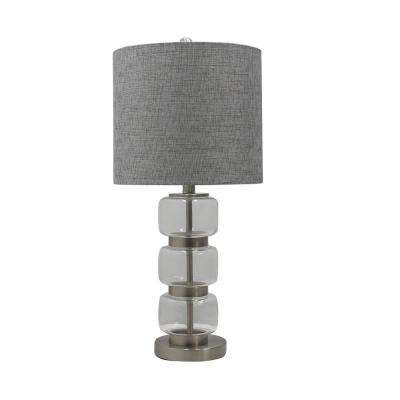 gray - transitional - table lamps - lamps - the home depot