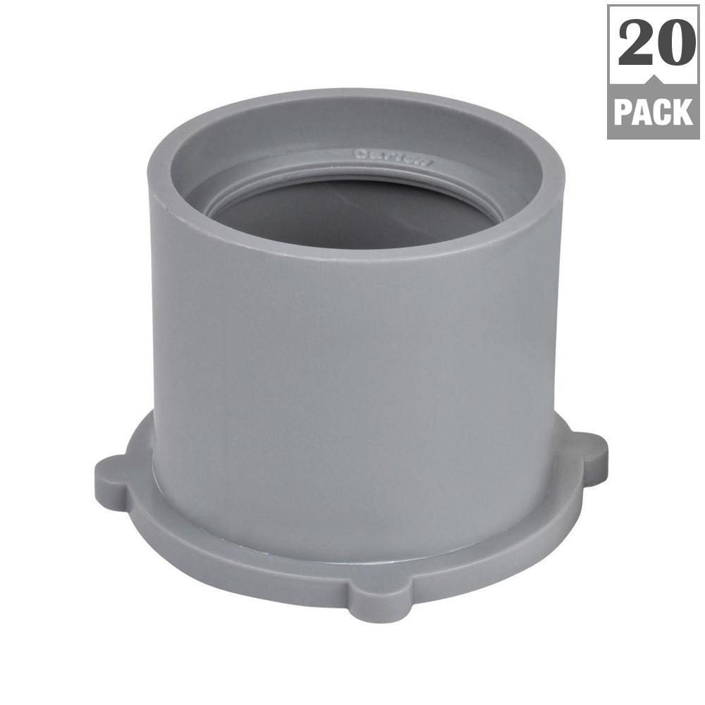 1 in. x 3/4 in. PVC Reducer Bushing (Case of 20)