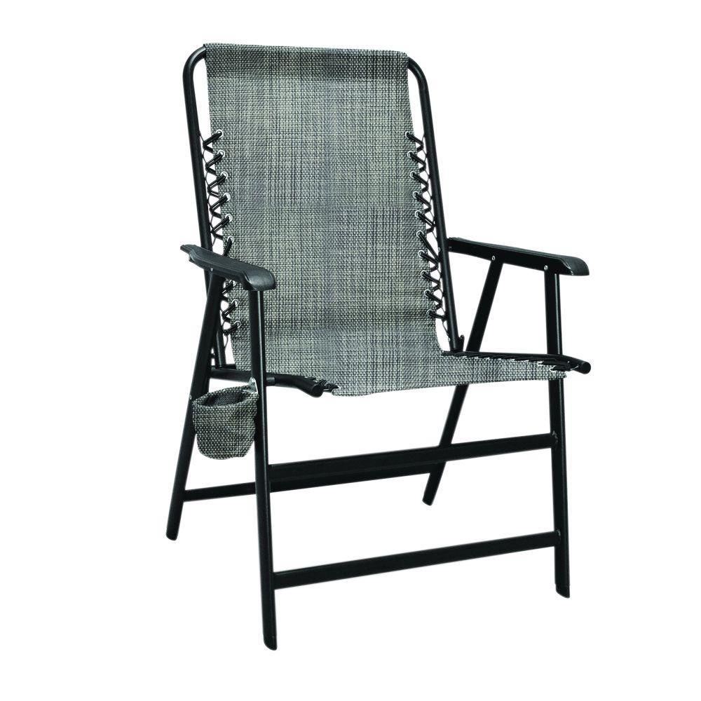 Grey XL Suspension Patio Chair
