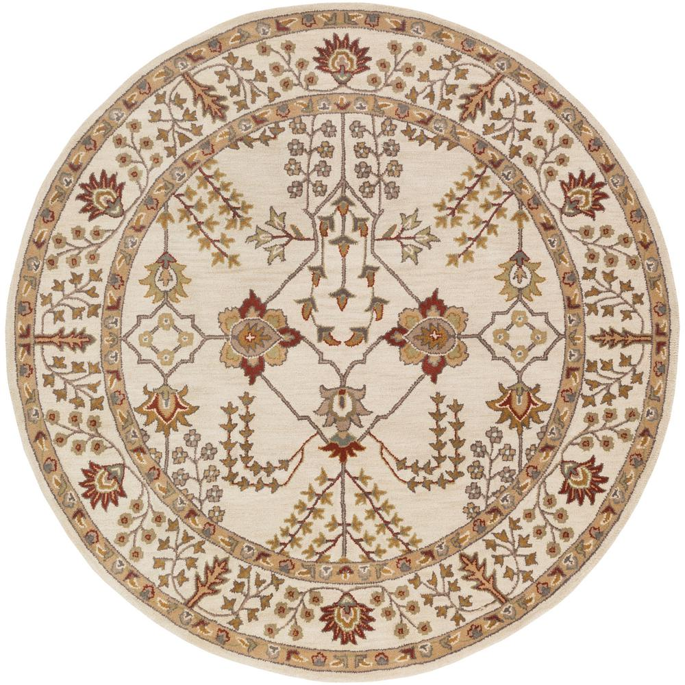 ArtisticWeavers Artistic Weavers Middleton Kelly Ivory 7 ft. x 7 ft. Round Indoor Area Rug