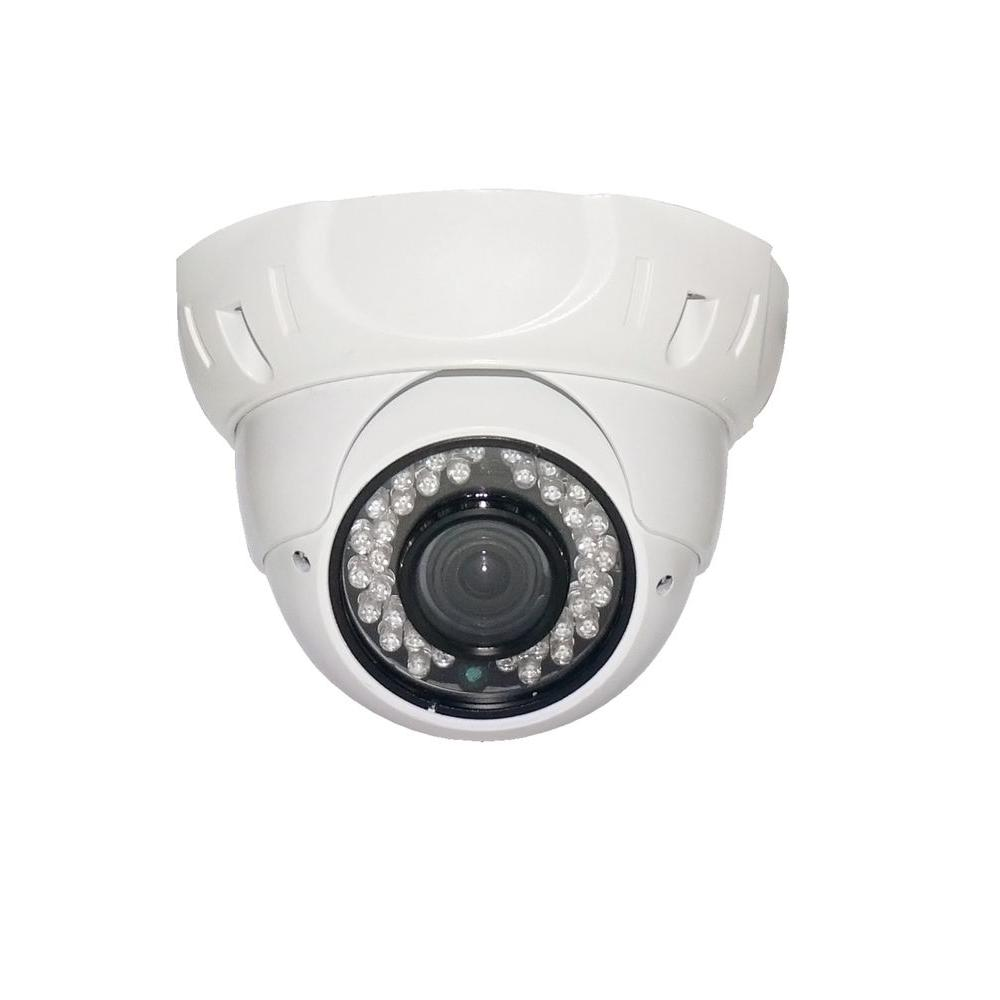 SPT Wired Indoor or Outdoor Sony CCD Outdoor IR Vandal Proof Dome Standard Surveillance Camera with 700TVL and 3.6 mm Lens