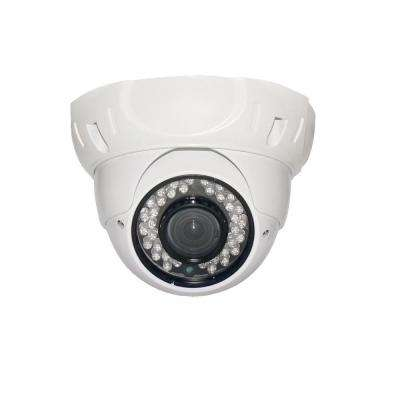 Wired Indoor or Outdoor Sony CCD Outdoor IR Vandal Proof Dome Standard Surveillance Camera with 700TVL and 3.6 mm Lens