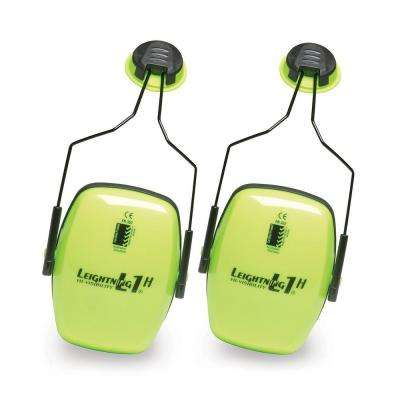 Leightning L1HHV Hi-Visibility Noise Blocking Cap-Mounted Earmuffs with 13910039 Cap-Mount Adapter