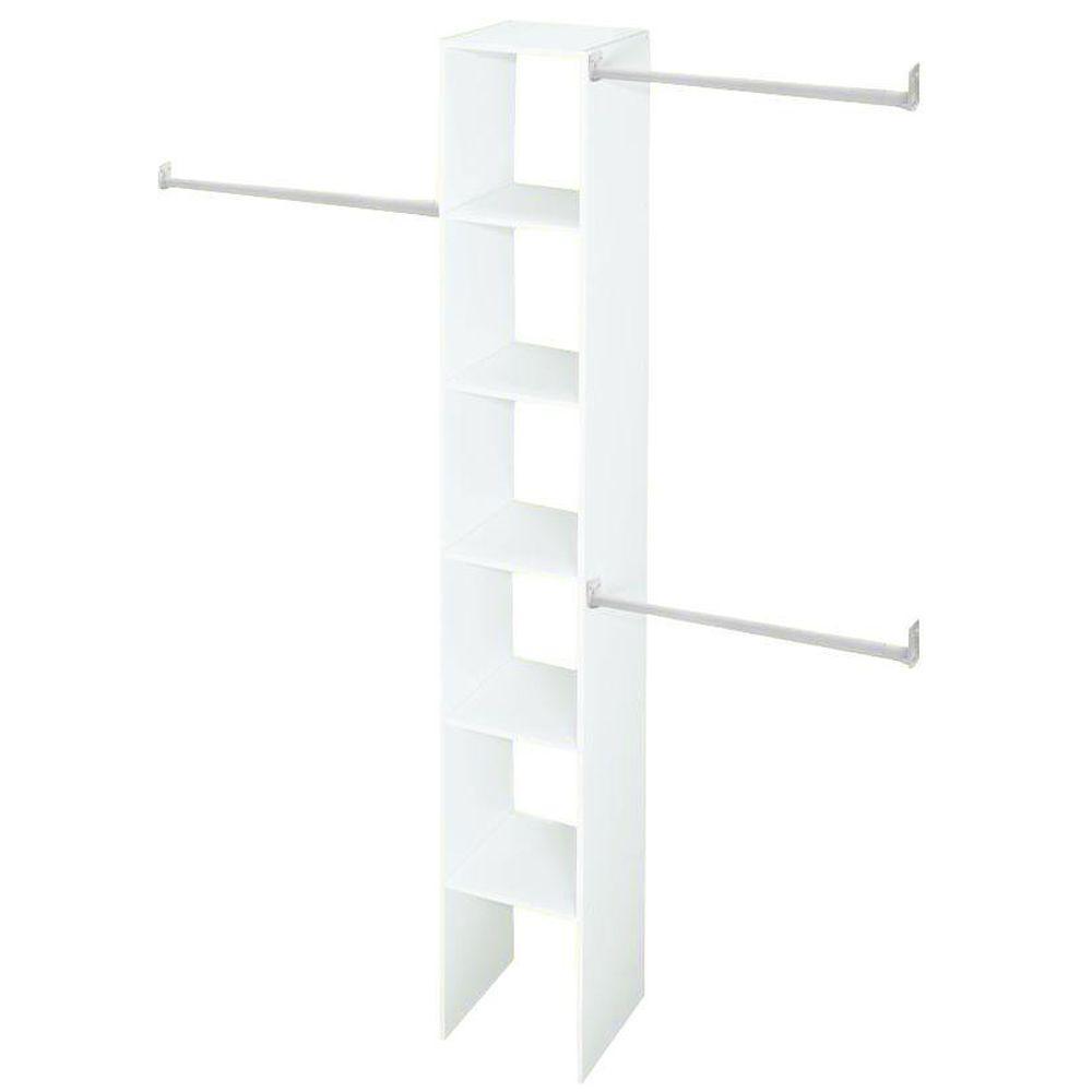ClosetMaid 12 in. White Custom Closet Organizer