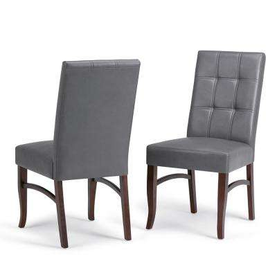 Ezra Stone Grey Deluxe Dining Chair (Set of 2)