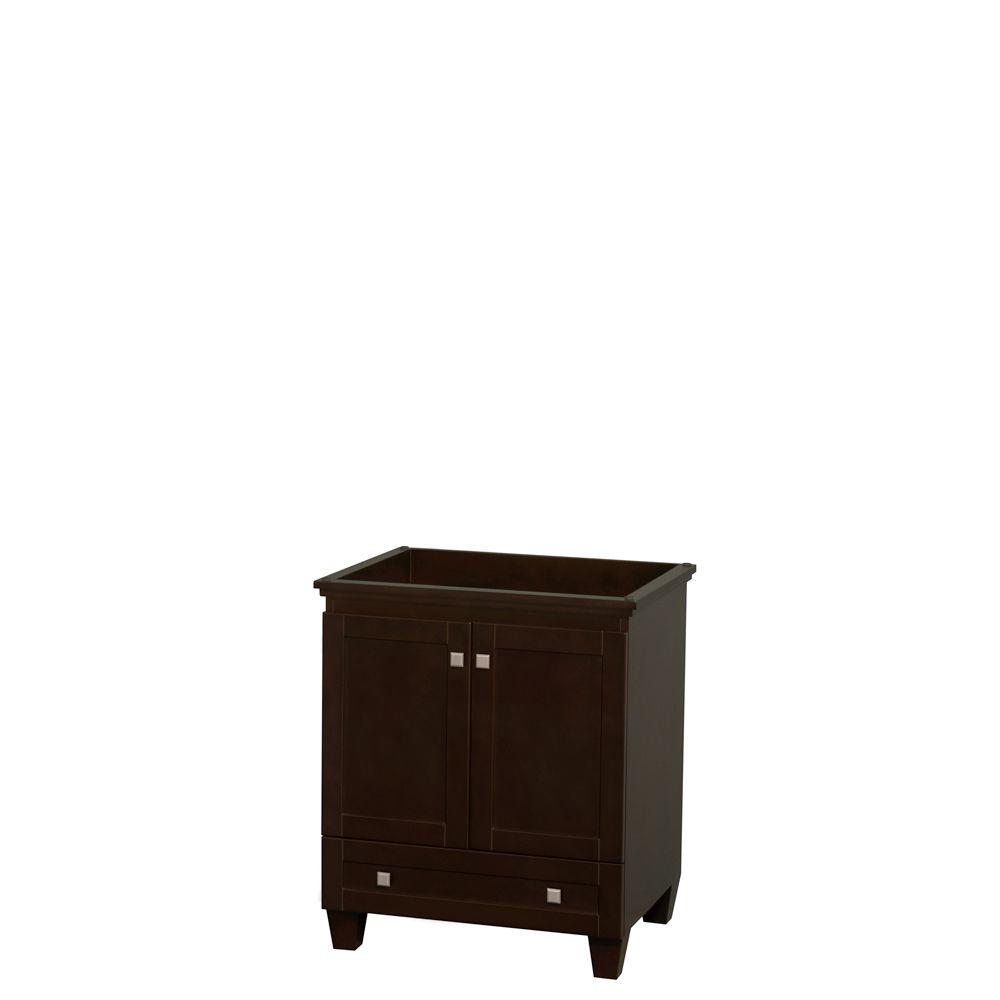Wyndham Collection Acclaim 29 In. W Bath Vanity Cabinet Only In Espresso