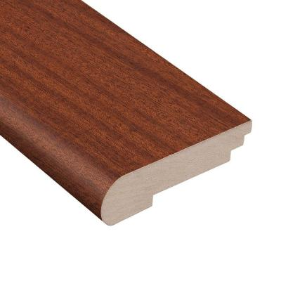 Chicory Root Mahogany 3/8 in. Thick x 3-1/2 in. Wide x 78 in. Length Stair Nose Molding