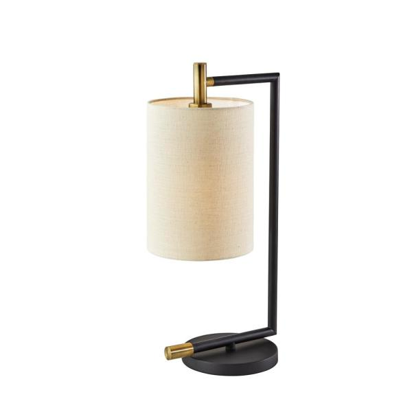 Adesso Austin 21 In Brushed Steel Table Lamp With Qi