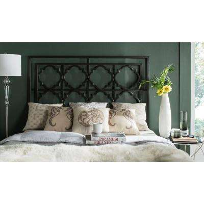 Silva Gunmetal Queen Headboard