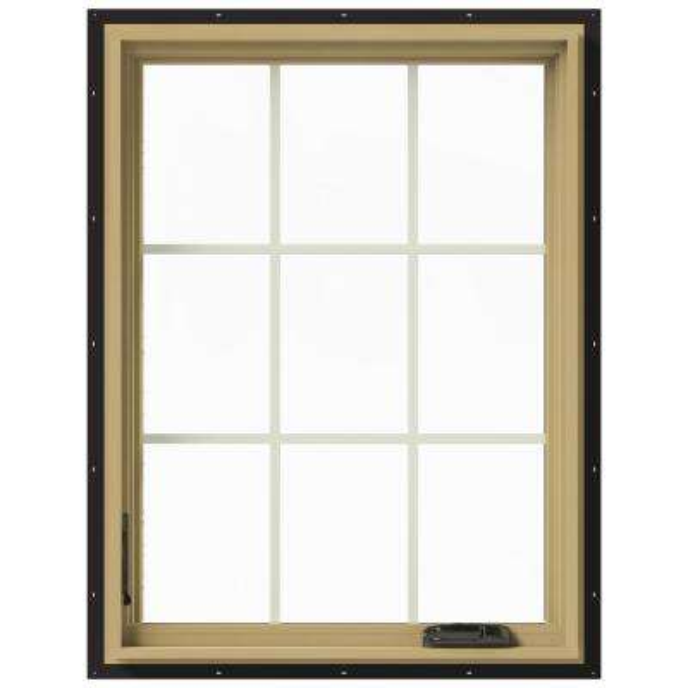 30 in. x 40 in. W-2500 Left-Hand Casement Aluminum Clad Wood Window