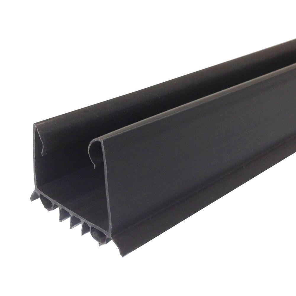 36 in. Brown Slide-On Under Door Seal