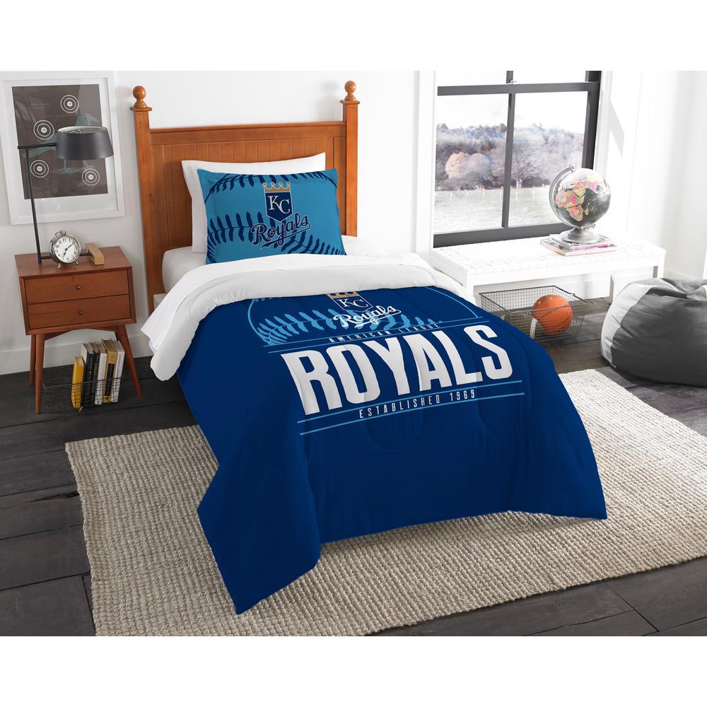 Royals 3-Piece Multi Color GrandSlam Twin Comforter Set by