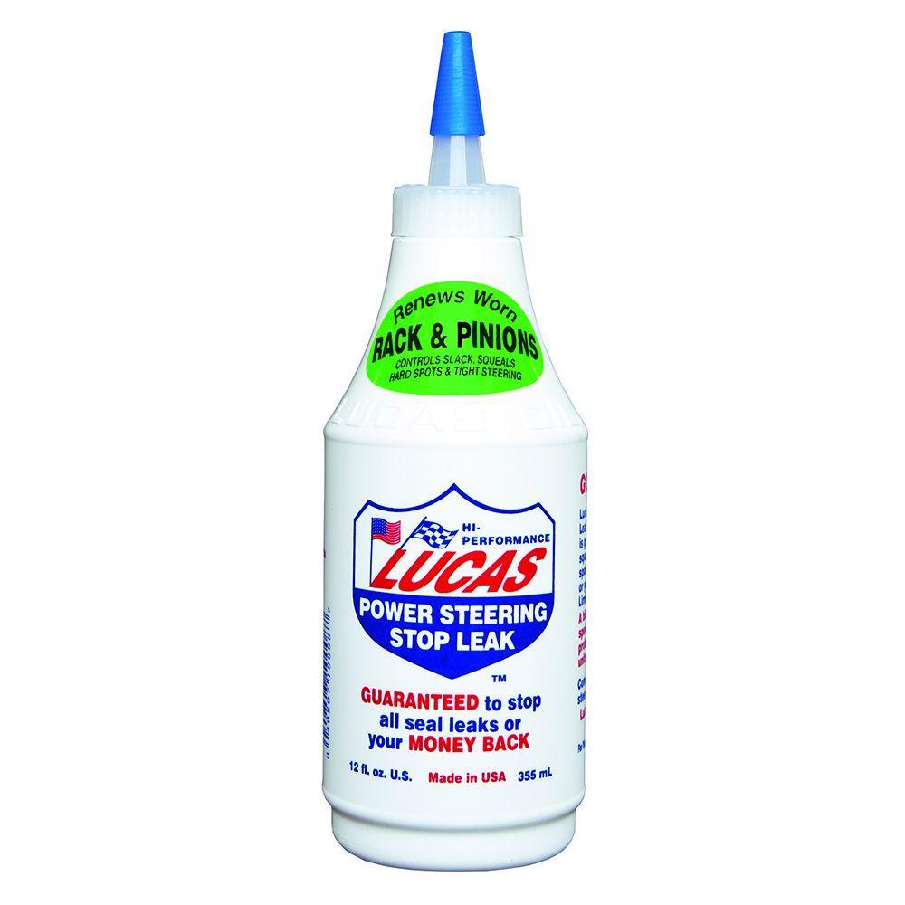 Lucas Oil 12 oz. Power Steering Stop Leak