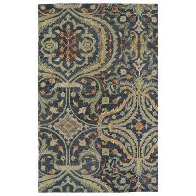 Helena Pewter 4 ft. x 6 ft. Area Rug