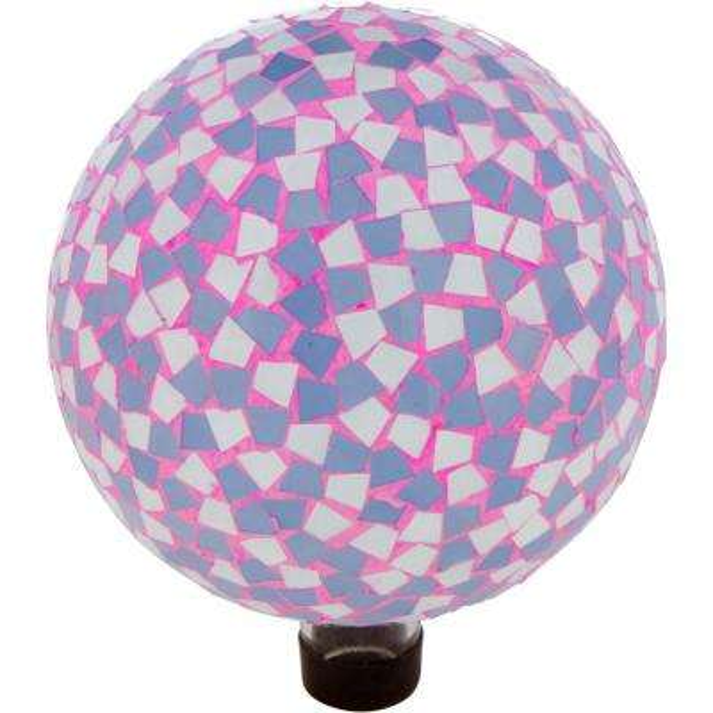 10 in. Mosaic Glass Gazing Mirror Ball