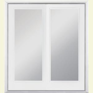 60 in x 80 in ultra white prehung right hand inswing full lite - 60 Patio Door