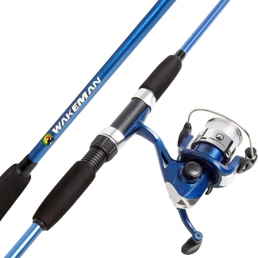 Trademark Global Swarm Series Spinning Rod and Reel Combo...