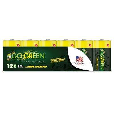C Alkaline Battery (12 per Pack)