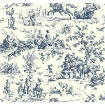 Seasons Toile Strippable Roll Wallpaper (Covers 60.75 sq. ft.)