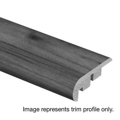 Weathered Grey Wood 3/4 in. Thick x 2-1/8 in. Wide x 94 in. Length Laminate Stair Nose Molding