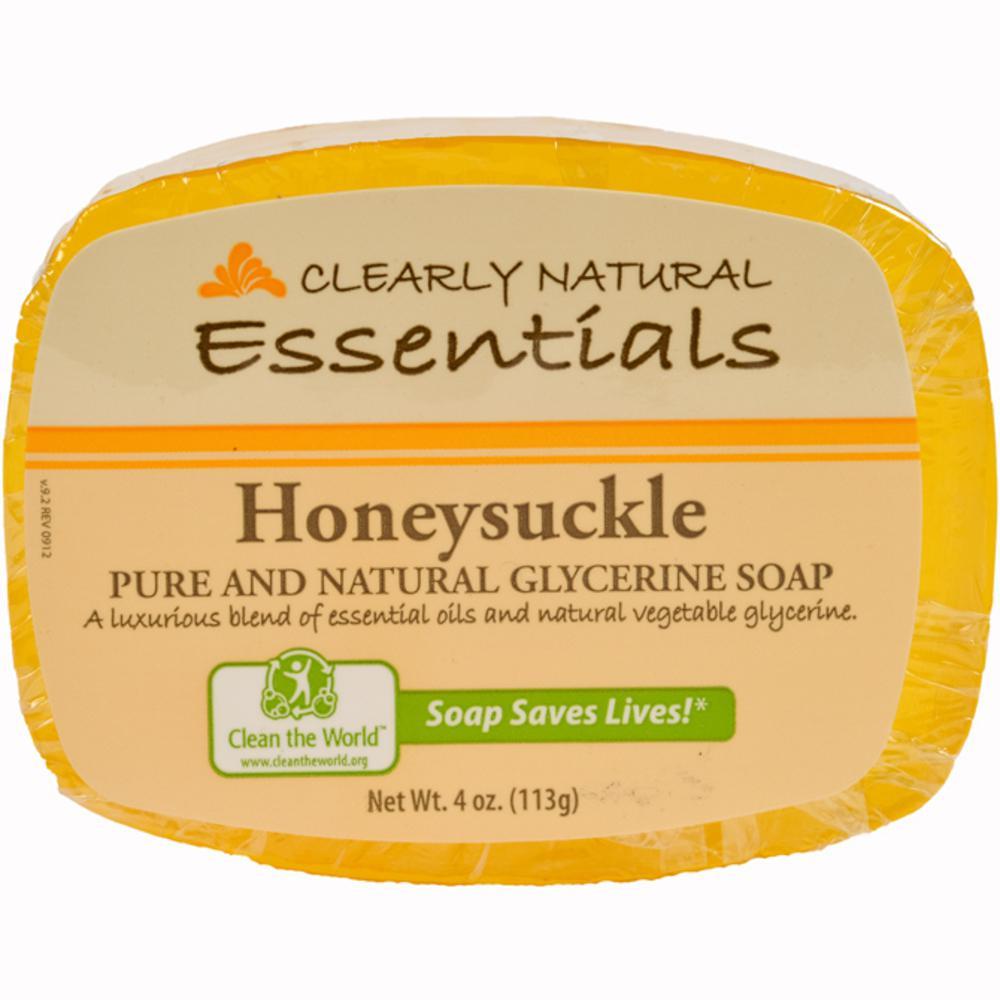 4 oz. Glycerin Bar Soap Honeysuckle (Pack of 12)