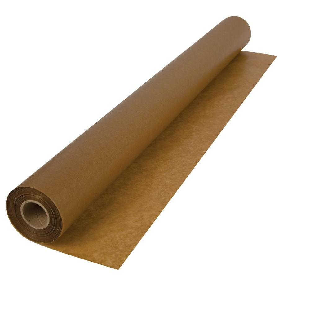 Roberts 750 sq. ft. 3 ft. x 250 ft. x .009 in. 30 lb. Waxed Paper Underlayment for Wood Flooring