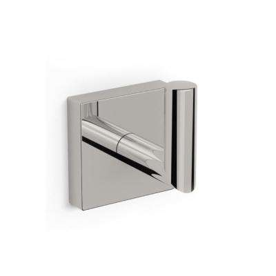 Nice Hotel Wall Mounted Bathroom Hook in Satin Nickel