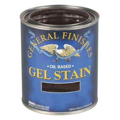 1 qt. Carbon Gray Oil-Based Interior Wood Gel Stain