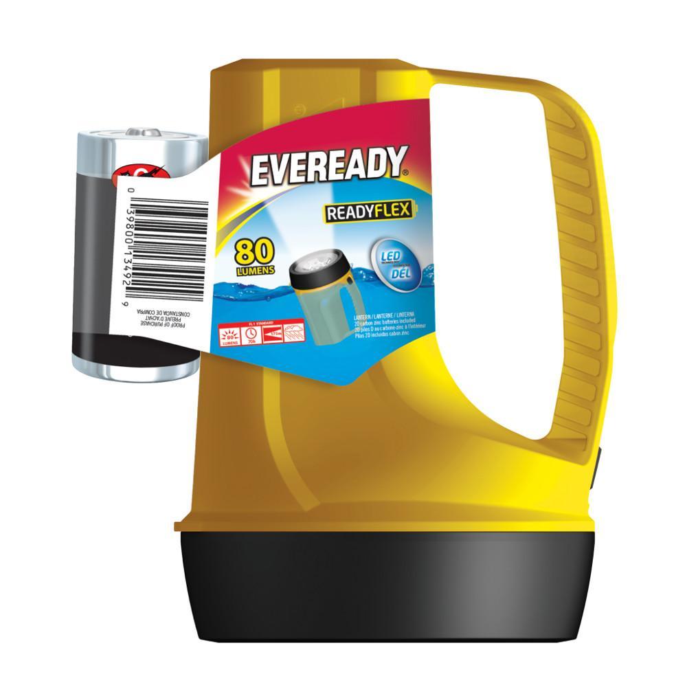 Eveready Ready Flex Yellow Lantern