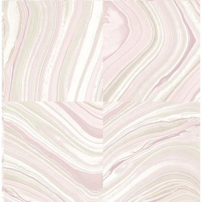 Agate Plum Stone Wallpaper Sample