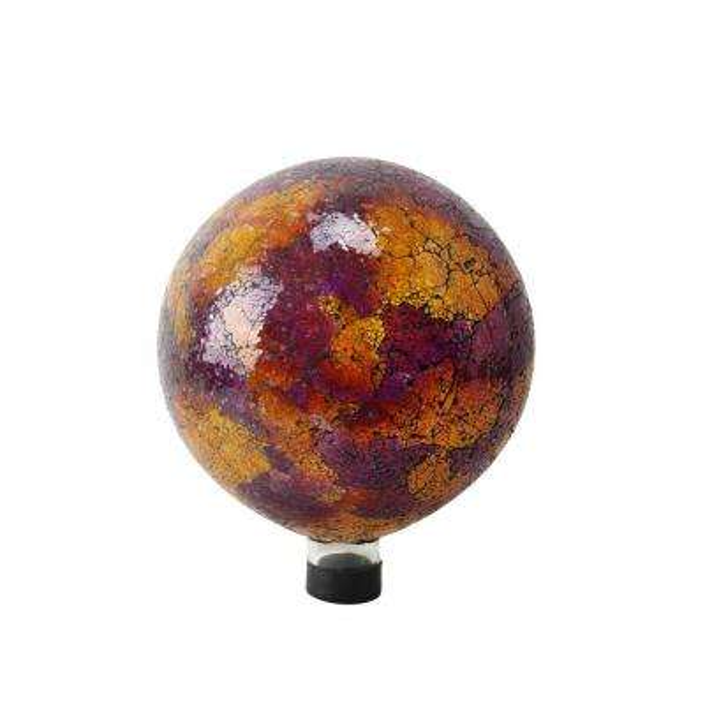 10 in. Pink/Yellow/Red Mosaic Gazing Globe