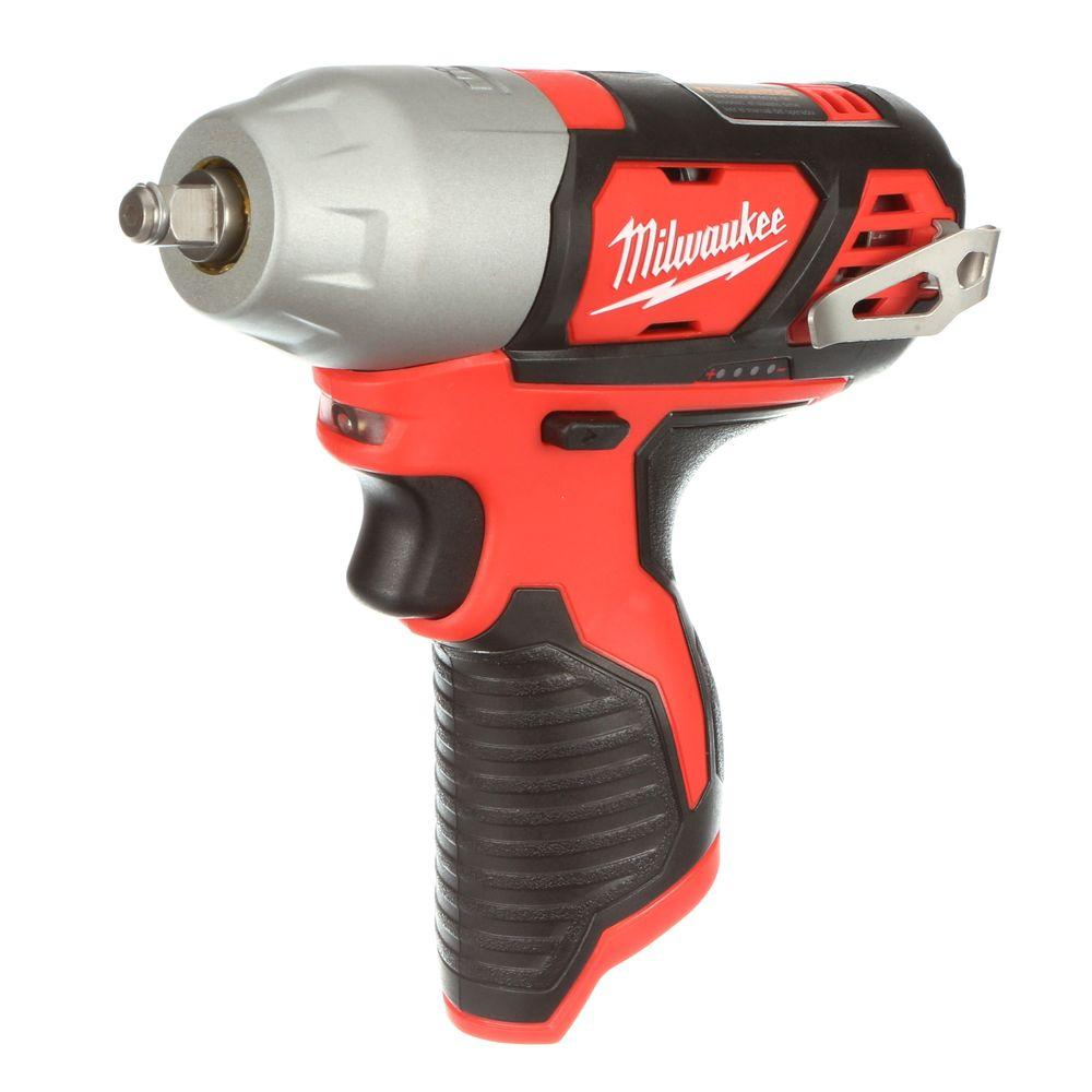 M12 12 Volt Lithium Ion Cordless 3 8 In Impact Wrench Tool Only