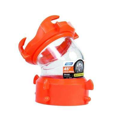 RhinoFLEX 45-Degree Sewer Hose Swivel Fitting