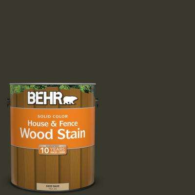 1 gal. #SC-108 Forest Solid Color House and Fence Wood Stain